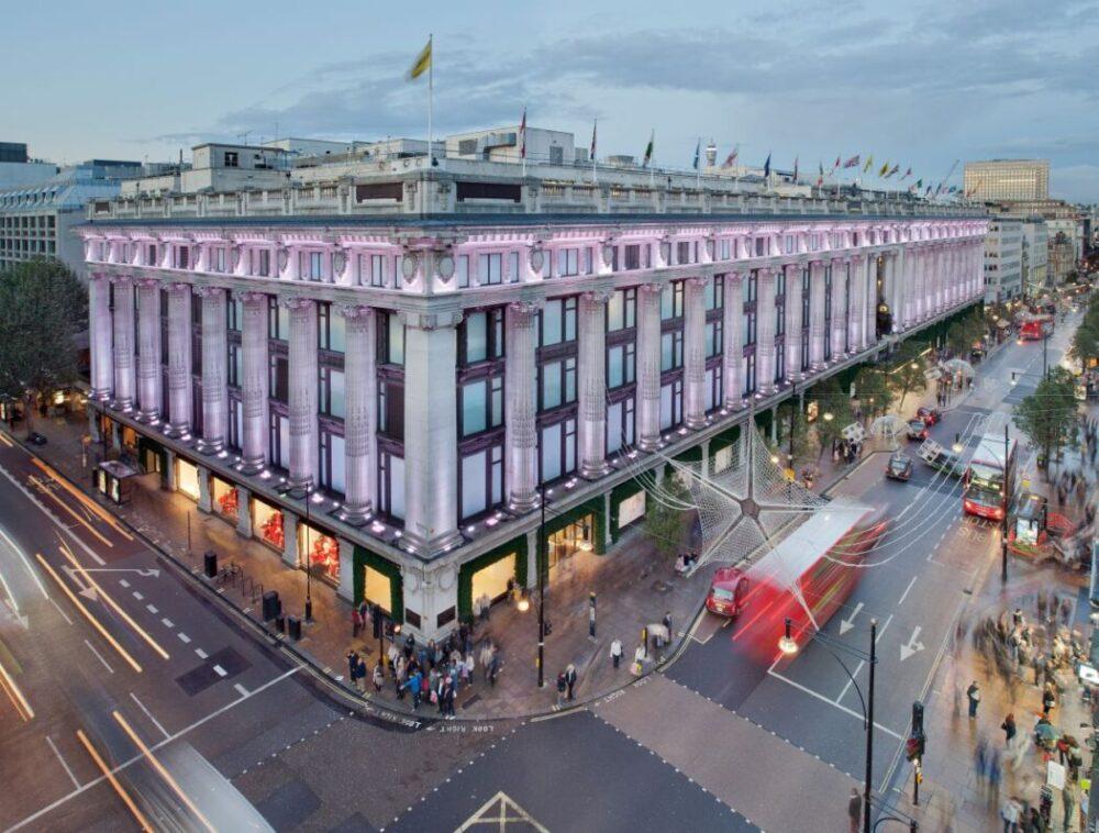 Foto: i magazzini Selfridges a Londra