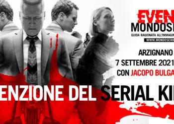 Locandina Serial Killer evento MONDOSERIE