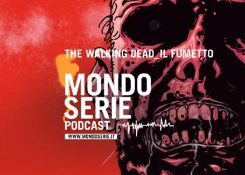 Artwork The Walking Dead fumetto per podcast Mondoserie