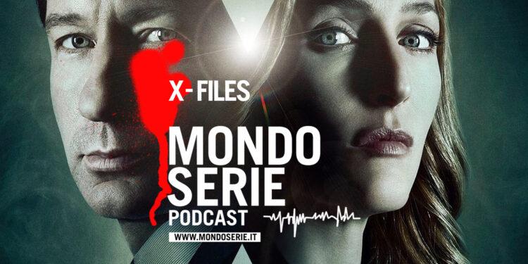 Cover di X-Files podcast per MONDOSERIE
