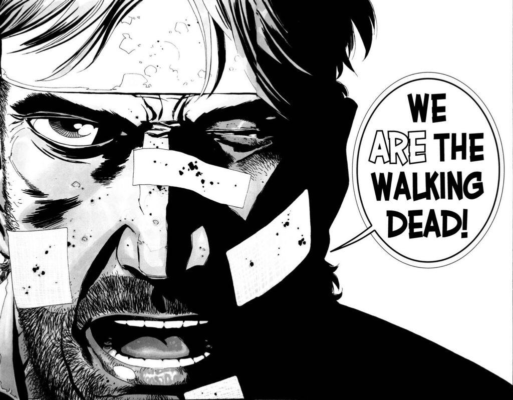 Foto: The Walking Dead fumetto
