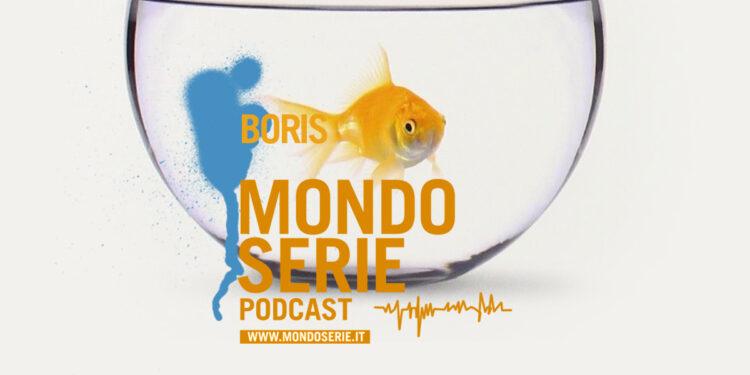 Artwork di Boris serie podcast per MONDOSERIE