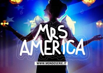 Artwork di Mrs America per Mondoserie