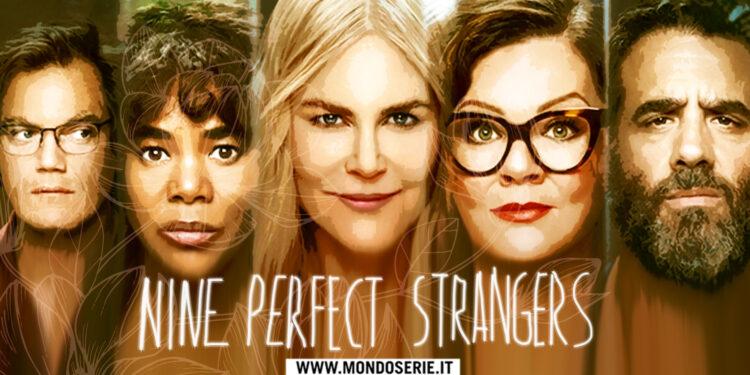 Artwork di Nine Perfect Strangers per Mondoserie