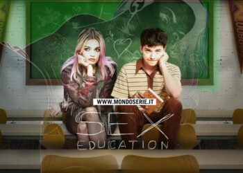 Cover di Sex Education per Mondoserie