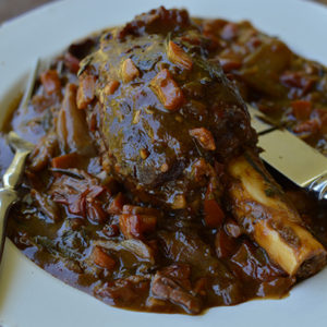 Braised Chital Shanks