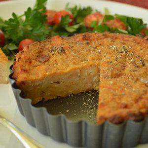 Salmon and Sundried Tomato Slice