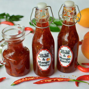 Chilli and mango sauce
