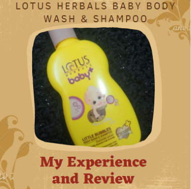 Lotus Herbals Baby Body Wash and Shampoo: Review