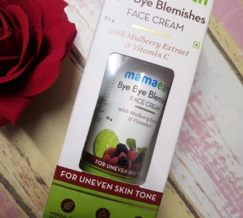 Mamaearth Bye Bye Blemishes Cream: Honest Review