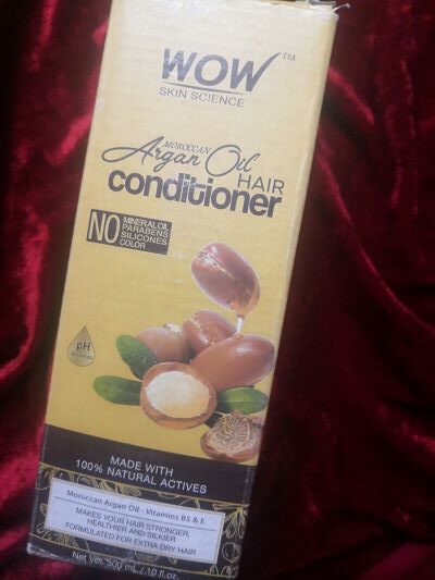Wow conditioner outer packaging