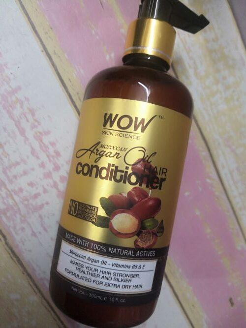 Wow argan oil conditioner