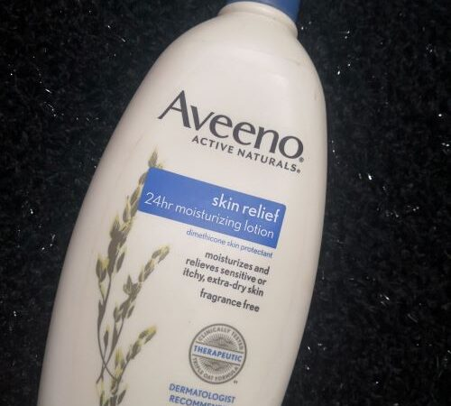 Aveeno Moisturizing Lotion: My Experience and Review
