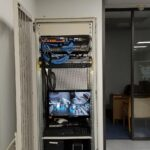 commercial security camera equipment panel