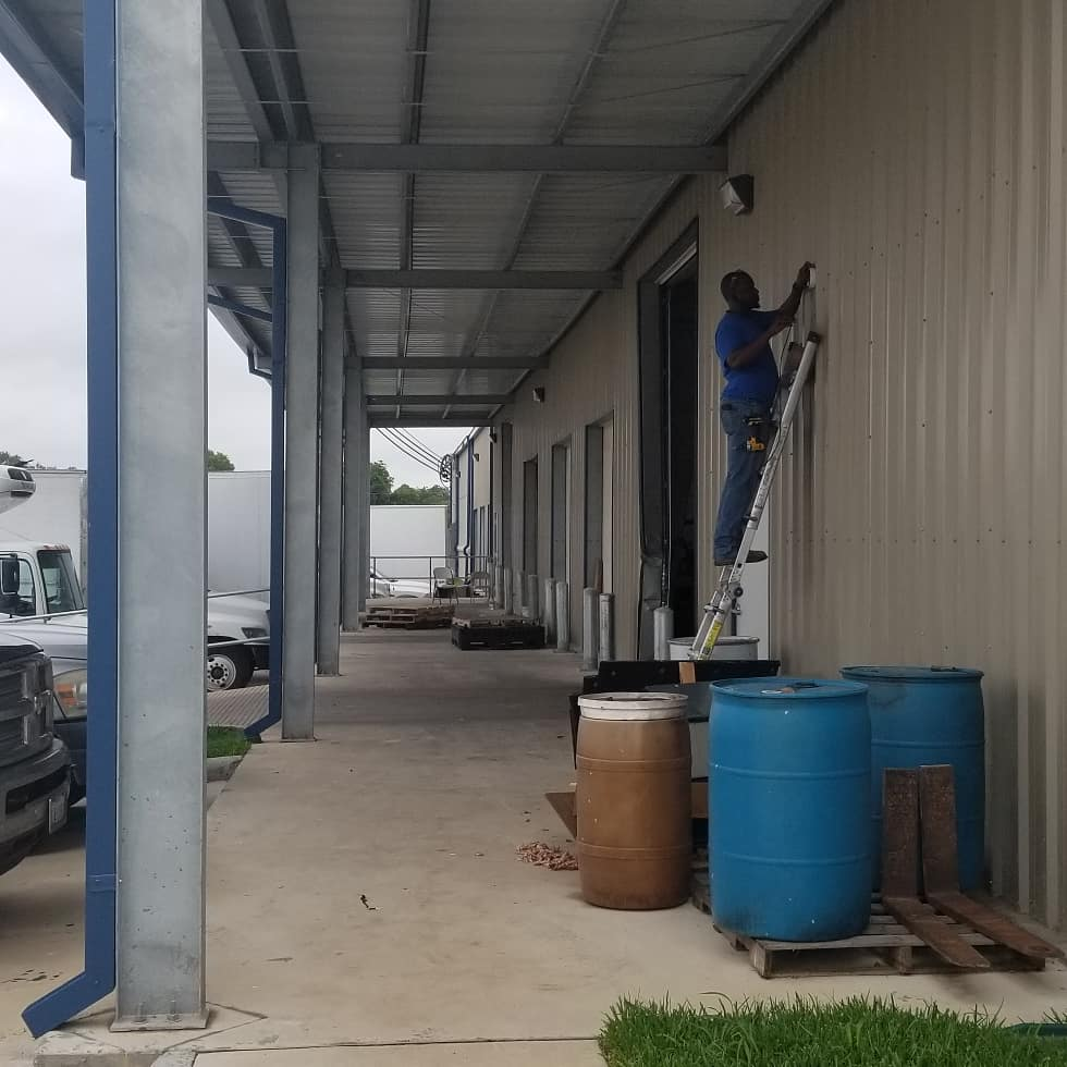 loading dock security camera