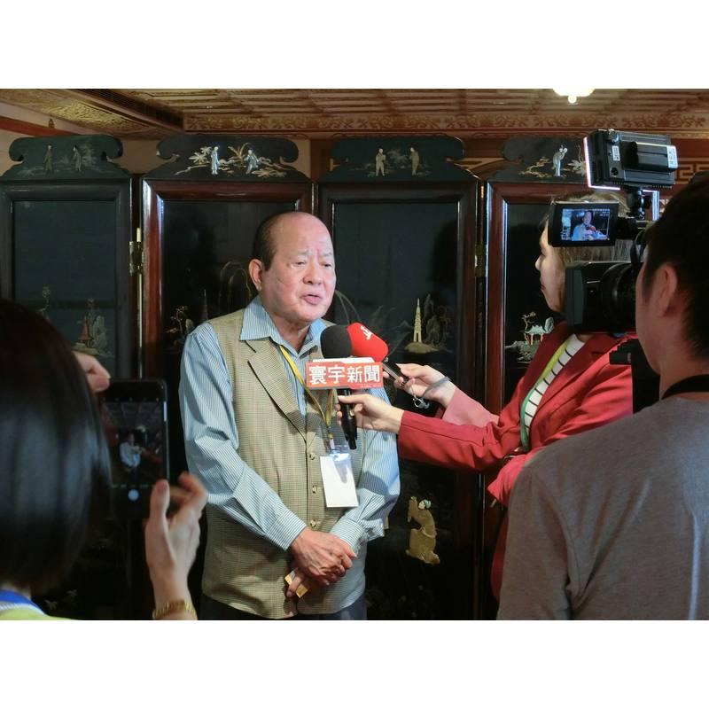 名譽顧問張廣博董事長接受媒體採訪