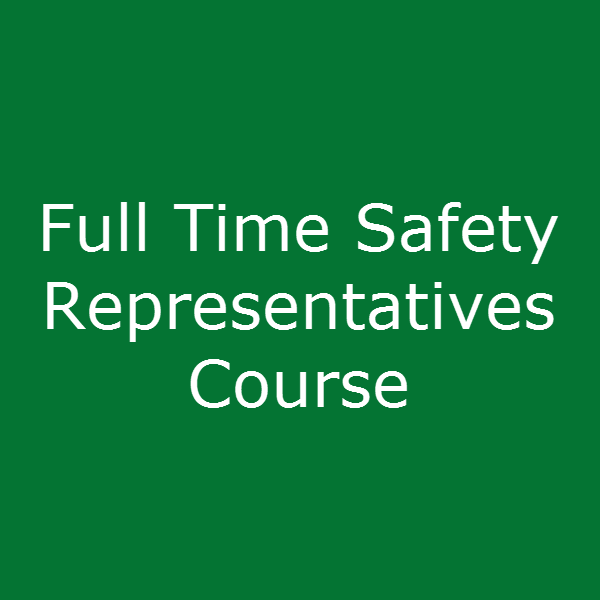 Full Time Safety Representatives Course