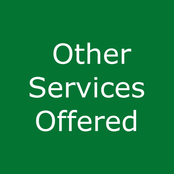 Other Services Offered