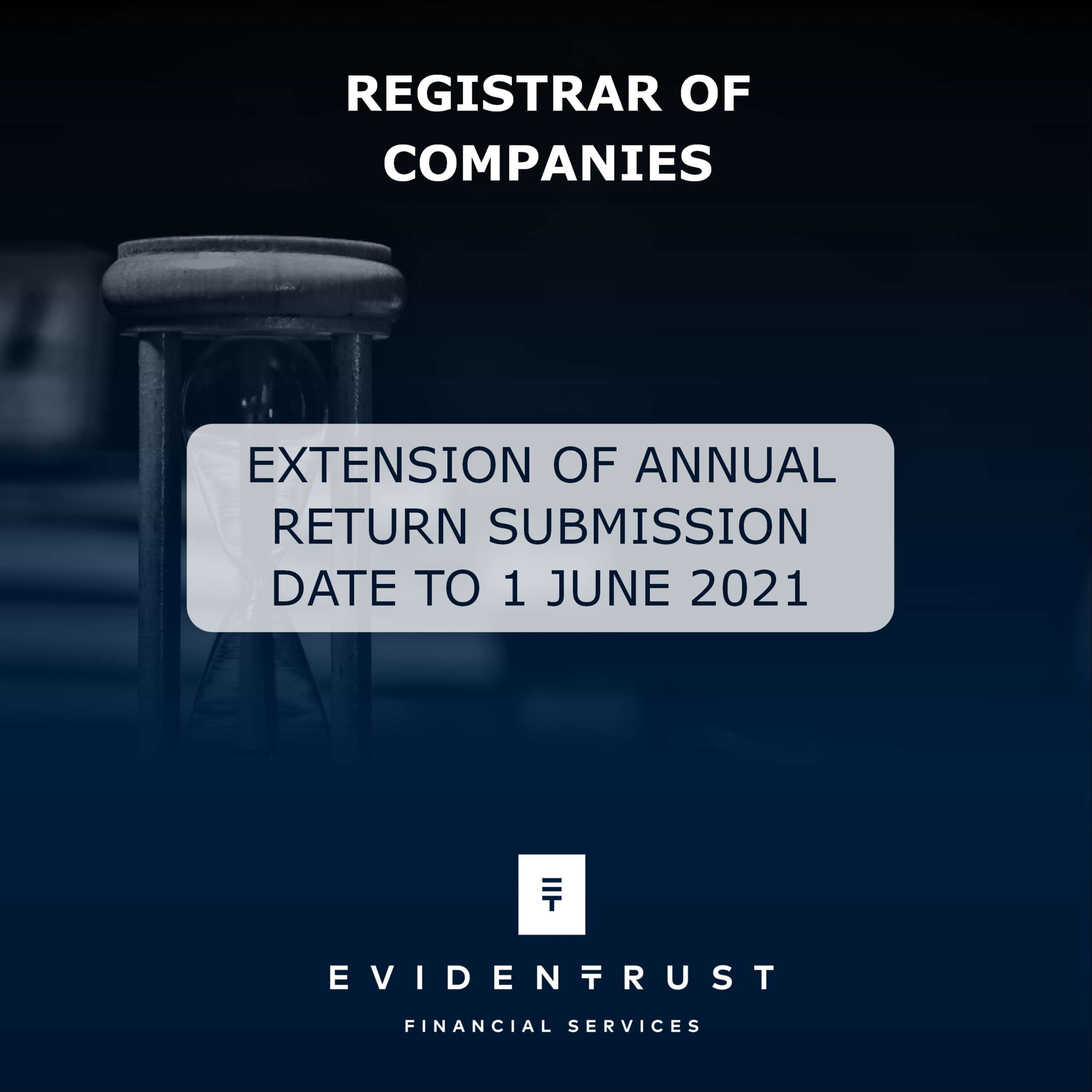 Extension of the deadline for submission of Annual Return to 1 June 2021