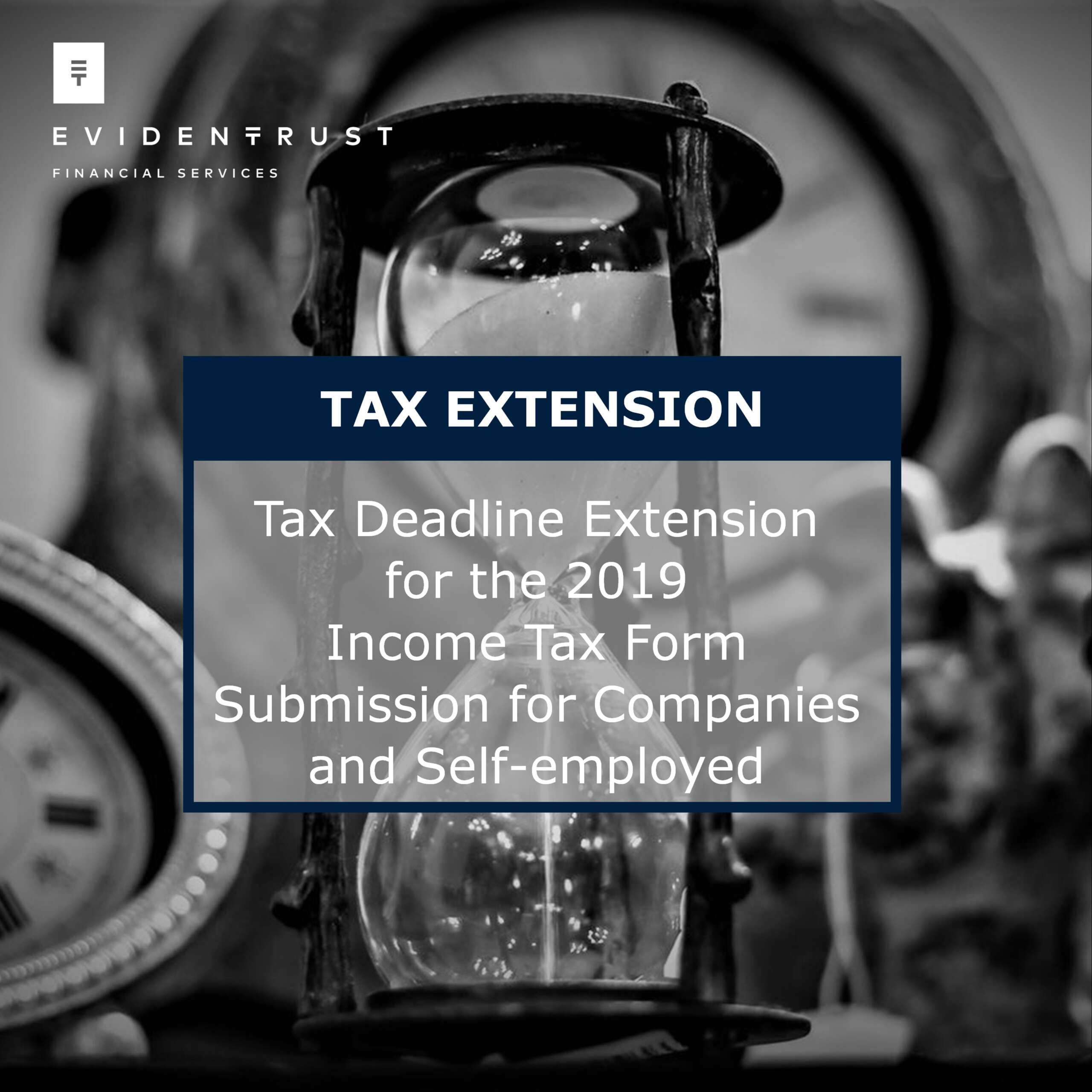Extension of the deadline for the submission of the 2019 Corporate Income Tax return (IR4) and the 2019 Personal Income Tax return (IR1A)