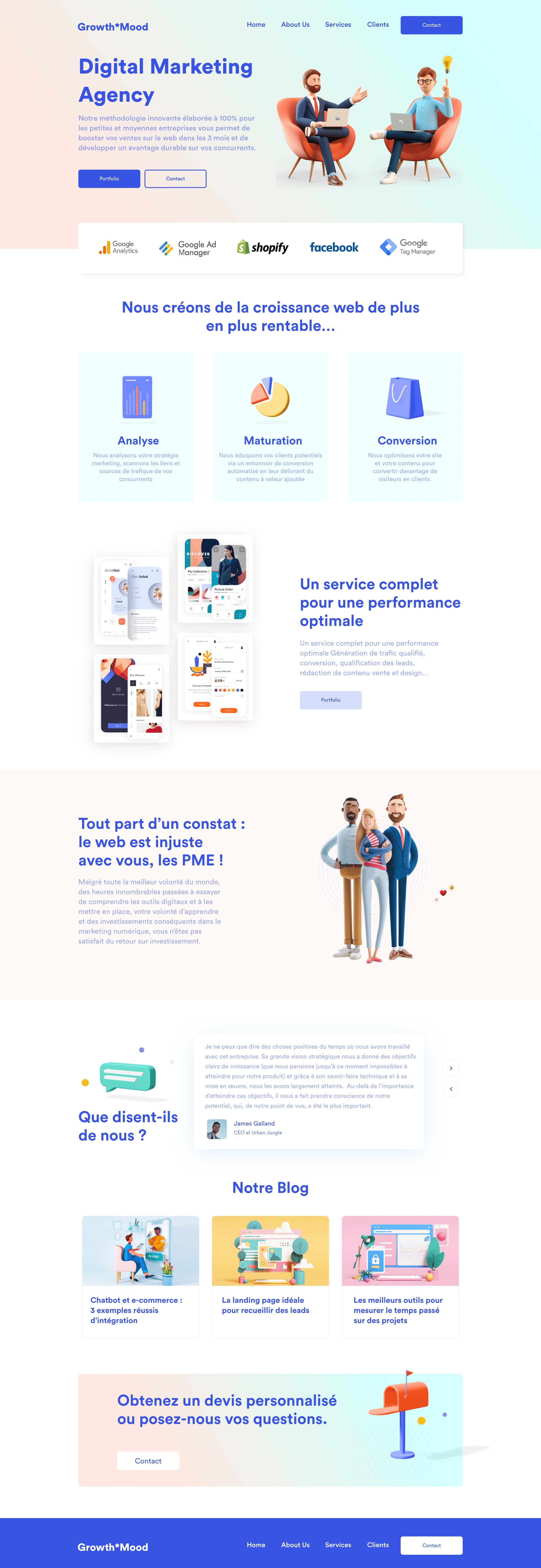 Création Site Internet Agence
