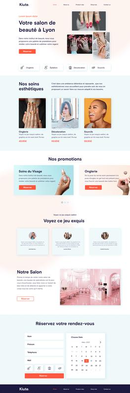 Création Site Internet Institut de Beauté