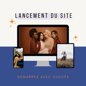 Lancement site web startup Profiscient
