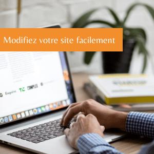 Modifiez votre site web facilement