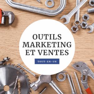 Outils marketing et ventes pour startup dans votre site Wix