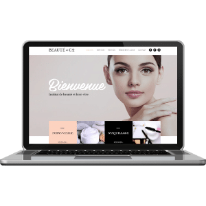 Site web pour institut de beauté