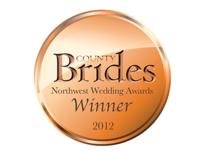 County Brides Best Wedding Venue Lancashire 2012 Award