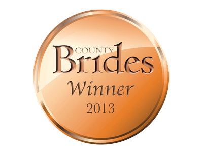 County Brides Best Wedding Venue Lancashire 2013 Award