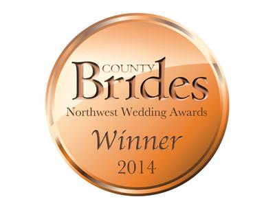 County Brides Best Wedding Venue Lancashire 2014 Award