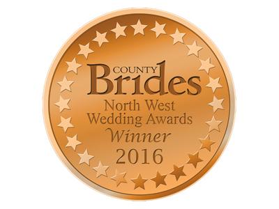 County Brides Best Wedding Venue Lancashire 2016 Award