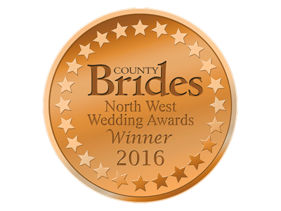 County Brides Best Wedding Venue Lancashire 2016 Award