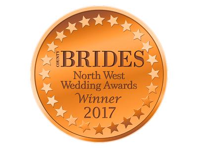 County Brides Best Wedding Venue Lancashire 2017 Award
