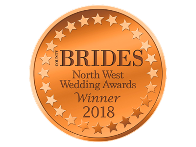 County Brides Best Wedding Venue Lancashire 2018 Award