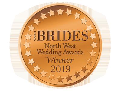 County Brides Best Wedding Venue Lancashire 2019 Award
