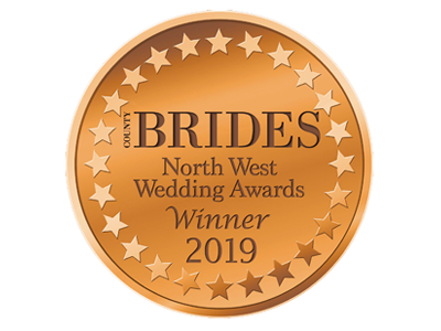 County Brides Best Wedding Venue Lancashire 2019 Award