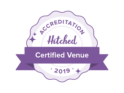 Hitched Accredited venue award 2019