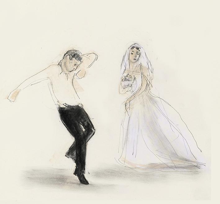 Lezginka Dancers at a wedding