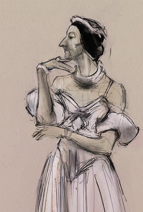 Paul Ghislan - performs the dying swan for Les Ballet Trockerdero de Monte Carlo