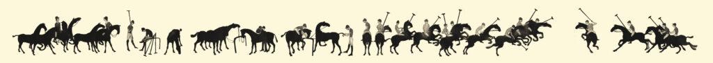 Polo Frieze by Julian Williams - Polo Art