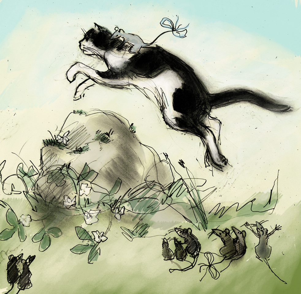 Mouse Olympics - Cross Country Eventing