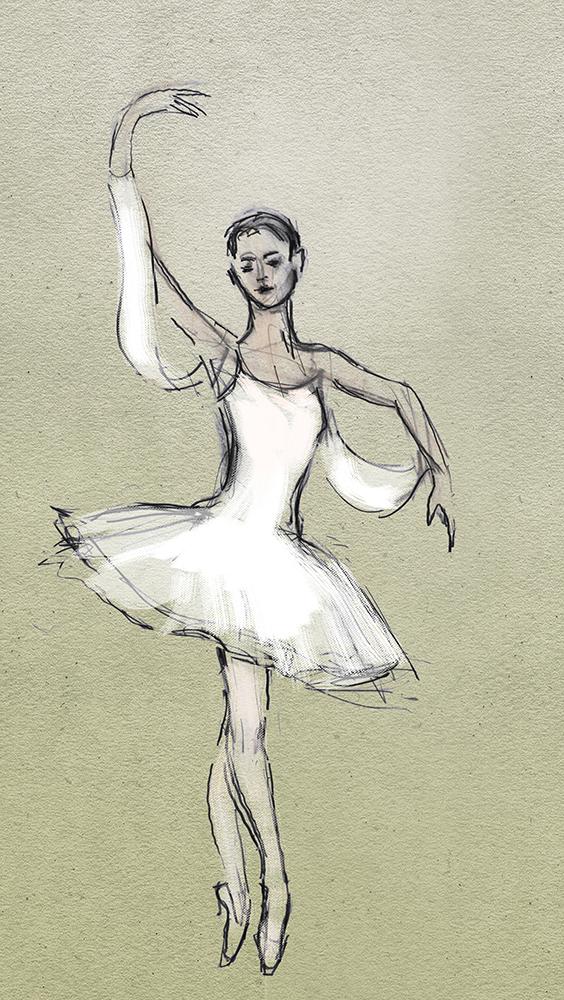 Anna Tsygankova Don Q drawing Julian Williams
