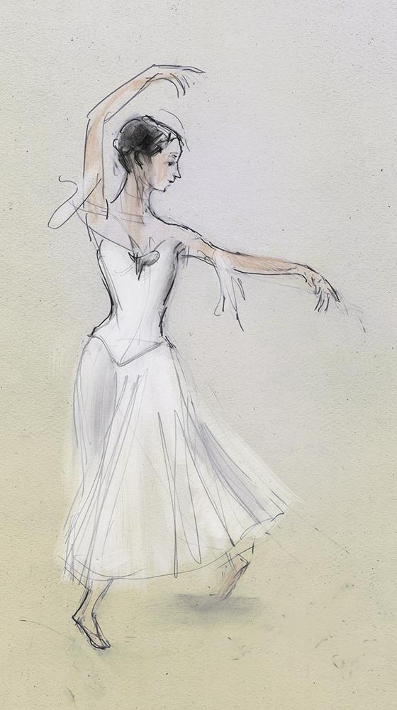 Myrtle, Giselle, Dutch National Ballet by Julian Williams