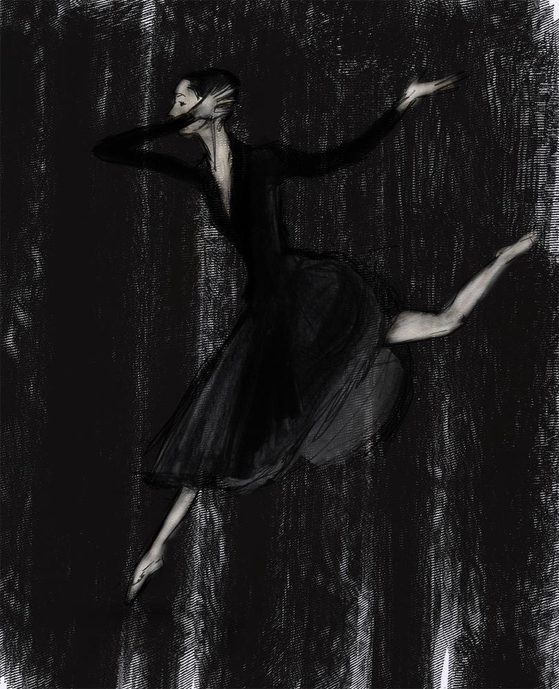 Mata Hari Dutch National Ballet artwork by Julian Wiliams