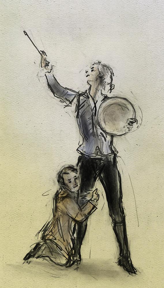 Don quixote and Sancho and Pansa