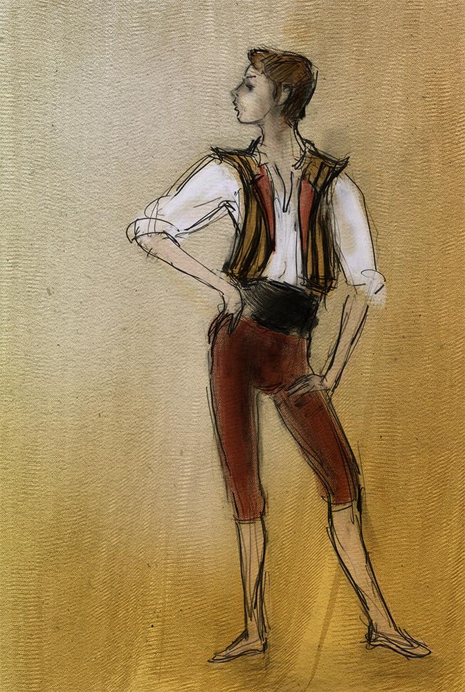 Matthew Golding Dancer
