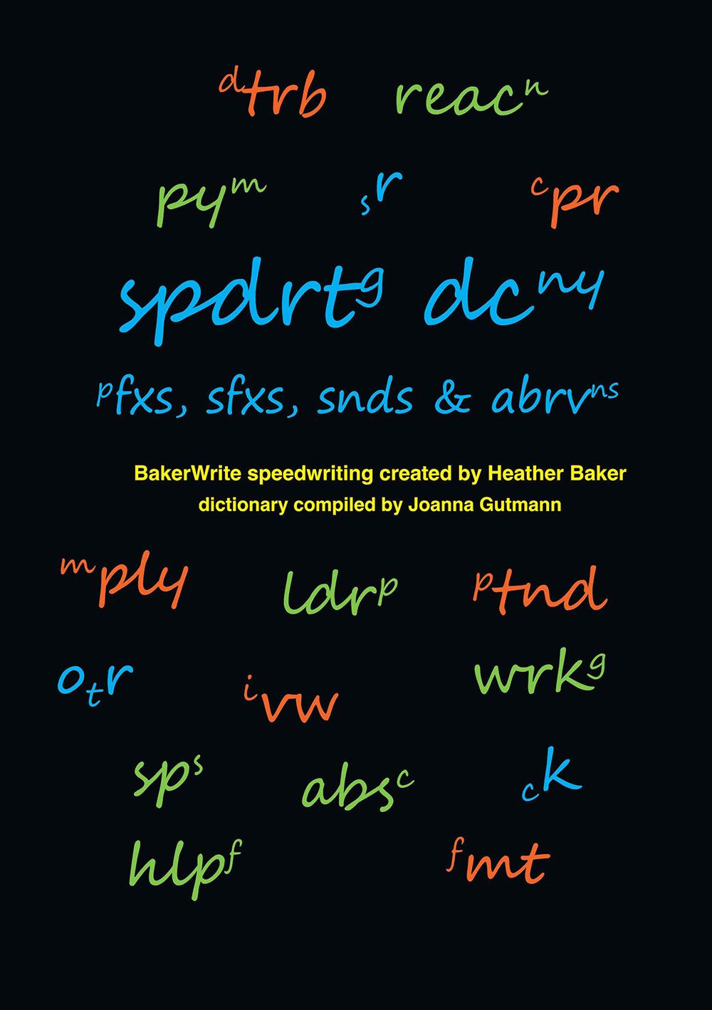 Speedwriting Dictionary Book
